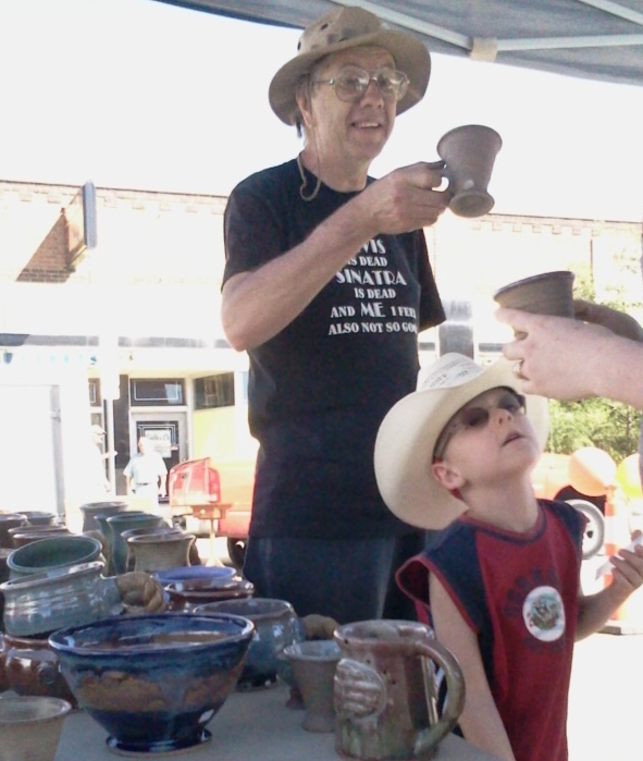 Muddy Mountain Pottery West Magoon Art Festival in Cheyenne