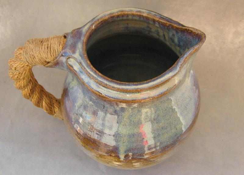 stoneware pitcher historically inspired wyoming pottery
