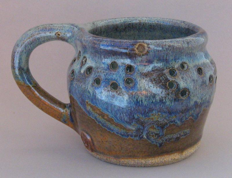 tana libolt puzzle mug muddy mountain pottery centennial wyoming